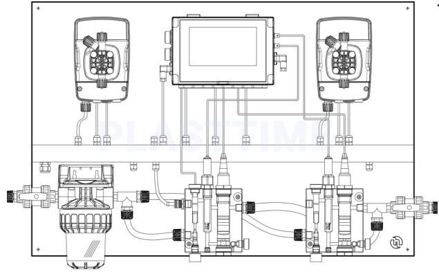 Система дозирования eONE GUARD MAX PH/RX/CL/T/CL TOTAL