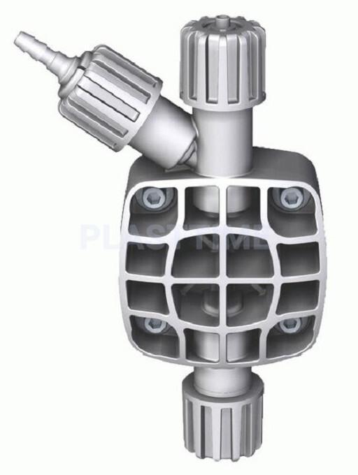 Головки насосов H и I (STD PVDF eONE 1-15 л/ч; 20 – 30 л/ч)