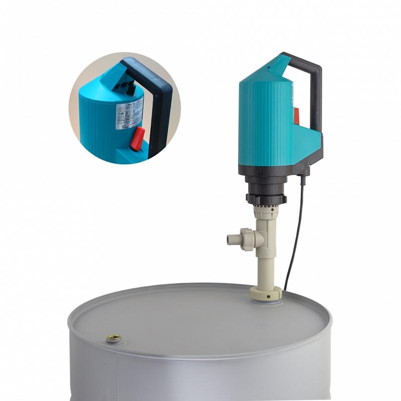 Бочковой насос с регулировкой производительности Gruen p400-SR-R